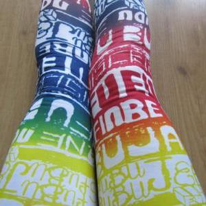 SHIP FROM NY - Graffiti Leggings / ..